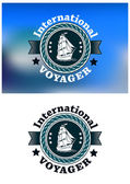 International Voyager emblem — Vecteur