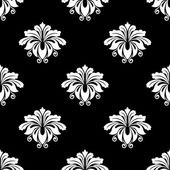 Paisley seamless floral pattern — Stock Vector