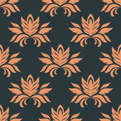 Floral seamless floral pattern — Stock Vector