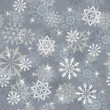 Seamless snowflakes background — Stock Vector #12236137
