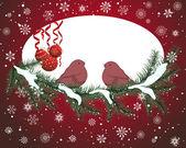 Christmas card — 图库矢量图片