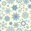 Seamless snowflakes background — Stock Vector #12334225