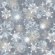 Seamless snowflakes background — Stock Vector #12334237