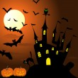 Royalty-Free Stock Obraz wektorowy: Happy halloween card
