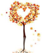 Autumn maples — 图库矢量图片
