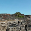 Ruins of ancient city Pompeii — Stock Video