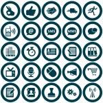 Office icon set — Stock Vector