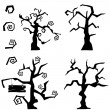 Tree set — Stock Vector #13248834