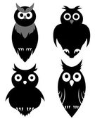 Owl set — Vecteur