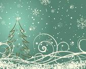 Christmas retro — Stock Vector