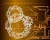 Teknolojik futuristik — Stok Vektör