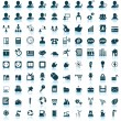 Business and office icon set — Stock Vector #13798885