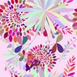 Seamless multicolor floral pattern - Stock Vector