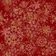 Seamless snowflakes pattern - 
