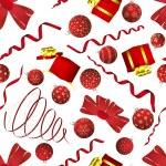Seamless Christmas — Stock Vector