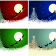 Christmas card set — Stock Vector #14901725