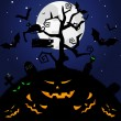 Feliz Halloween — Vector de stock