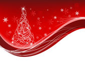 Christmas card — Vettoriale Stock