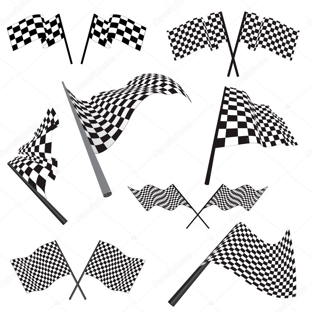 checkerd flag coloring pages - photo#24