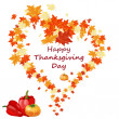 Thanksgiving Day background — Stock Vector