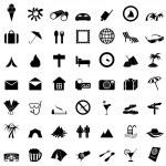 Travel icons set — Stock Vector #3626934