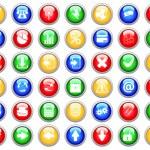Icons set — Stock Vector #3657177