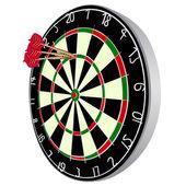 Darts aim — Stock Vector