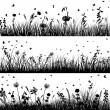 Meadow background — Stock Vector #48505123
