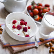 Heathy breakfast - Foto Stock