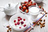 Heathy frühstück — Stockfoto
