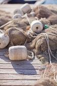 Fishing nets closeup — Stock Photo