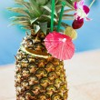 Tropical pineapple cocktail — Stock Photo #33171719