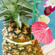 Tropical pineapple cocktail — Stock Photo #33171773