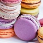 French macaroons. Dessert — Stock Photo