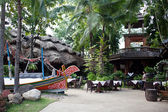 Exotic restaurant in Thailand — Foto de Stock