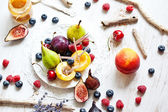 Multicolor fruits — Stock Photo