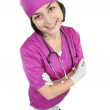 Attractive lady doctor — Stock Photo #19308943
