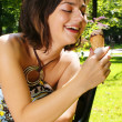 Stock Photo: Ice-cream