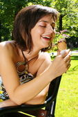 Ice-cream — Stock Photo