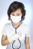 Zdravotní sestra — Stock fotografie