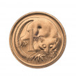 AustraliOne Cent Coin — Stock Photo #19104133
