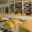 Bread production plant — Stock Photo