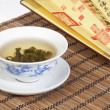 Chinese gaiwan tea — Stock Photo