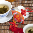 Chinese gaiwan tea - Stock Photo