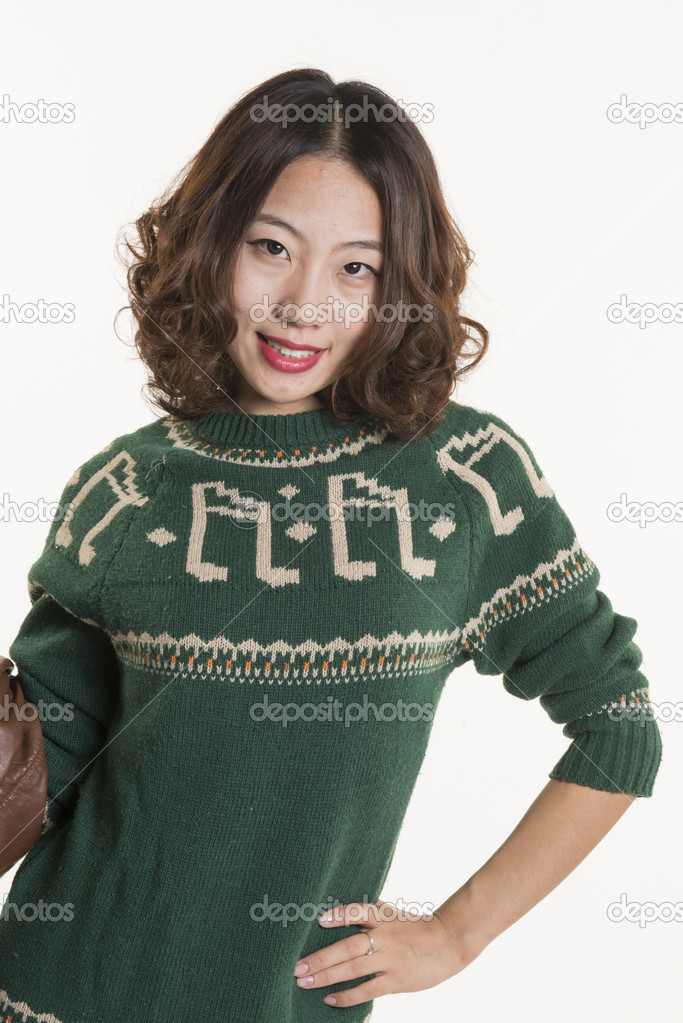 A Chinese girl — Stock Photo #15715503