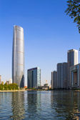 World Financial Center Tianjin City, China — Stock Photo