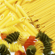 Mixed italian noodles — Stock Photo