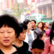 All kinds of people shop in Wangfujing PedestriStreet,Beijing,China — Stock video #33364227