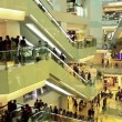 Hundreds of people in APM shopping mall,Wangfujing,Beijing,China — Stock video #33365237