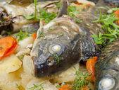 Il pesce al forno — Foto Stock